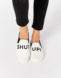 Shop the cutest slip ons from Asos on Keep!