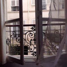 Paris windows are the prettiest