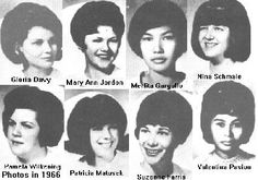 The 8 nurses brutally butchered by Richard Speck on Aug, 13, 1966 - Chicago.