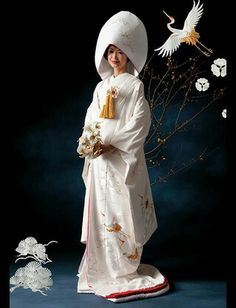 traditional japanese wedding dress