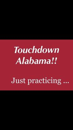 Touchdown Alabama Just Practicing Roll Tide Football, Crimson Tide Football, Alabama Crimson Tide, Alabama Vs, Air Gear Characters, Air Gear Anime, Alabama College Football, Bama Fever, Basketball Anime