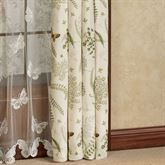 Althea Tailored Curtain Panel Eggshell 50 x 84 Sheer Curtains Bedroom, Panel Curtains, Quilt Bedding, Bedding Sets, Free Fabric Swatches, Custom Drapes, Post And Beam, Curtains For Sale, Dining Room Inspiration