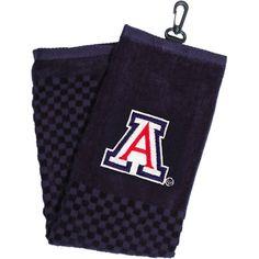 Team Golf Arizona Wildcats Embroidered Towel, Black