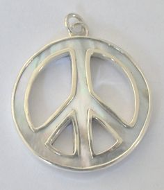 Mother of Pearl  Shell 925 Silver Pendant Bali Designer by Gingsir, $19.00