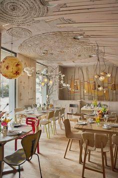 ATELIER RUE VERTE , le blog: Madrid / Mama Campo : une épicerie/restaurant bio,design et colorée /