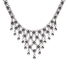 Another great find on #zulily! Ottoman Silver Collection Sterling Silver Filigree Beaded Statement Necklace by Ottoman Silver Collection #zulilyfinds
