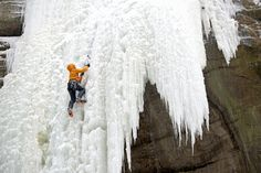 Illinois - climbing frozen waterfalls. 50 states, 50 spots: Natural wonders - CNN.com