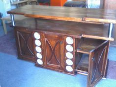Sideboard and wine rack for client
