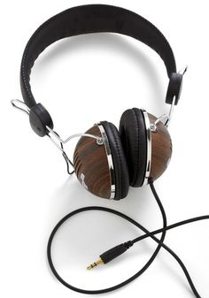 Classic Stylish Headphones in Hardwood !...  http://about.me/Samissomar