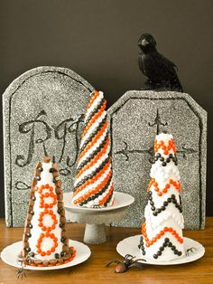Edible Candy Topiaries - Our 50 Favorite Halloween Decorating Ideas on HGTV