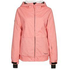 TWINTIP Winter jacket ($83) ❤ liked on Polyvore featuring activewear, activewear jackets, pink and twintip
