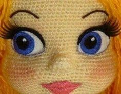 nose shaping for amigurumi crochet doll face Amigurumi Facial Features (Inspiration) But it's kinda creepy! This Pin was discovered by Уль only true Image gallery – Page 836895543229112118 – Artofit The possibilities for these crochet eyes are en Crochet Baby Toys, Crochet Amigurumi, Crochet Doll Pattern, Amigurumi Patterns, Amigurumi Doll, Doll Patterns, Crochet Patterns, Doll Eyes, Doll Face