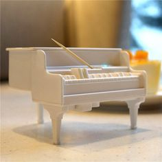 BangGood - Honana Honana DX-F2 Creative Automatic UV Sterilization Piano Toothpick Holder Table Decor Articles - AdoreWe.com