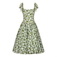 Meadow Dress green