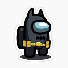 TRAJE DE AMONG US VERSION BATMAN • Millones de diseños originales hechos por artistas independientes. Cute Easy Drawings, Cool Art Drawings, Cute Cartoon Wallpapers, Funny Games, Character, Batman Stickers, Batman Costumes, Action Game, Super Man