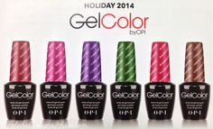 New Holiday (Winter) 2014 Releases Planned from OPI! | Designs by Amber