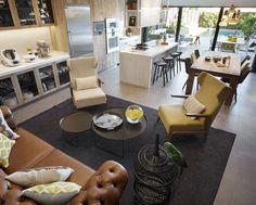 Molins Interiors // arquitectura interior - interiorismo - decoración - sala de estar - living room - cocina - kitchen - exterior - jardín - garden - chester
