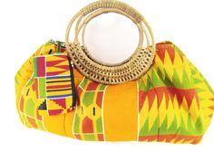 African Print Lsrge Tote Handbag. Tribal Print Ankara Hand Bag