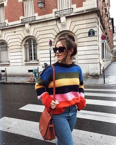 According to Fashion Girls, you need a Rainbow Stripe Jumper