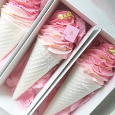 Shared by Find images and videos about pink, ice cream and food on We Heart It - the app to get lost in what you love. Soap Cake, Cupcake Soap, Cupcake Cakes, Cupcake Pics, Dessert Design, Magnum Paleta, Nectar And Stone, Pastel Cakes, Engagement Cakes