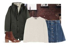 """""""BUT YEAH"""" by gcvarnell ❤ liked on Polyvore featuring AG Adriano Goldschmied, The Row and Madewell"""