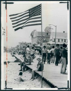 Ocean City, Maryland - 1978 Photographer Unknown, Photographed at OC Life Saving Station Museum #oceancitycool #OCBoardwalk