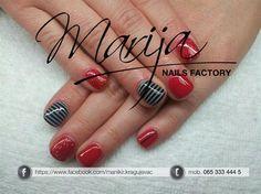 black and white effect by marija7 - Nail Art Gallery nailartgallery.nailsmag.com by Nails Magazine www.nailsmag.com #nailart