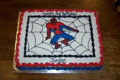 The Spiderman is a FBCT.  After I applied the FBCT I added the web, words, and then borders.
