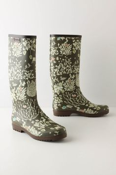 I could never spend this much on rain boots, but oh my gosh, are they ever cute!
