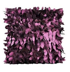 Weixinbuy Fallen Leaves Feather Couch Cushion Cover Home Decor Sofa Throw Pillow Case (Purple) Couch Cushion Covers, Couch Cushions, Sofa Throw Pillows, Throw Pillow Cases, Pillow Covers, Cushion Pillow, Bed Sofa, Lumbar Pillow, Pantone