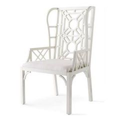 Lily Pulitzer Home Boulevard Wing Chair - Horchow