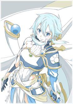 Sinon Ggo, Asuna, Sao Fanart, Sword Art Online Yuuki, Sword Art Online Wallpaper, Wallpaper Naruto Shippuden, Lego, Female Anime, Anime Art Girl