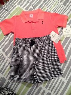 Carter's Boy's Short Sleeve Polo