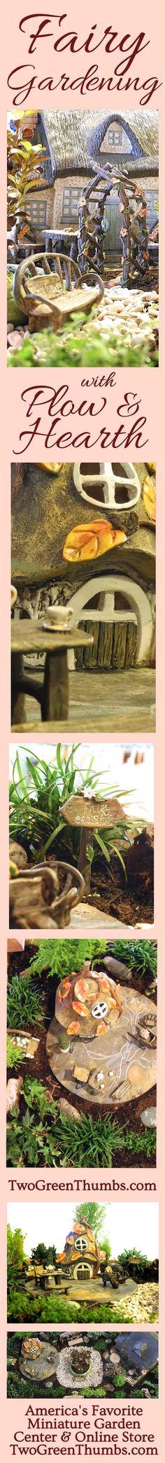 Janit Calvo's Fairy Garden built for Plow & Hearth