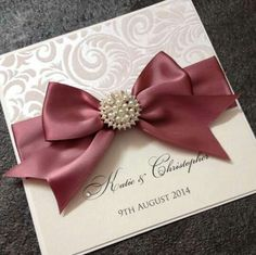 embossed diy wedding invitation   Wedding Invitation Ideas ...