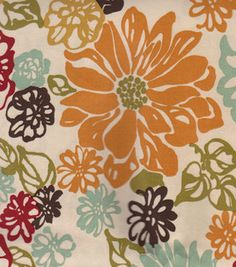 Keepsake Calico Bibi Fiesta 100% cotton  at Joann Fabrics  similar to Kennedy Floral Multi (kitchen)
