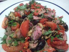 Mediterranean Lamb Salad