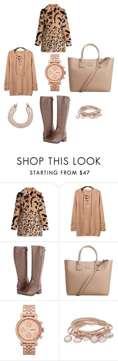 """""""Baby It is Cold Outside"""" by whimzythyme ❤ liked on Polyvore featuring Shrimps, Fitzwell, MANGO, FOSSIL, Marjana von Berlepsch and Chanel"""