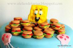 Tarta Fondant Cumpleaños Bob Esponja / Sponge Bob Fondant Birthday Cake