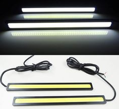 1.48$ (More info here: http://www.daitingtoday.com/2pcs-lots-ultra-bright-18w-14cm-daytime-running-light-100-waterproof-cob-day-time-lights-led-car-drl-driving-lamp-car-styling ) 2pcs/lots Ultra Bright 18W 14cm/ Daytime Running light 100% Waterproof COB Day time Lights LED Car DRL Driving lamp Car styling for just 1.48$
