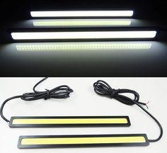 2 pcs/lots Ultra Terang 18 W 14 cm/Daytime Running light 100% Tahan Air COB siang hari Lampu LED DRL Mengemudi lampu Mobil Mobil styling