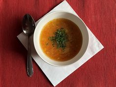 Zupa marchewkowa na rozgrzanie / carrot soup for warming up Carrot Soup, Carrots, Ethnic Recipes, Food, Meals, Carrot