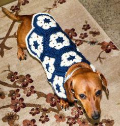 Dog Sweater - Free Pattern