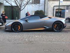 Lamborghini Huracan spotted in Manhattan, New York