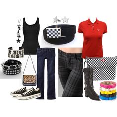 Go to punk rock/ ska show outfits from back in the day