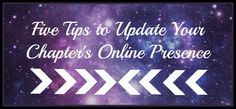 Five Tips to Update Your Chapter's Online Presence #CollegeLifestyles #Sorority #SororityLife #GreekLife #Online #SocialMedia