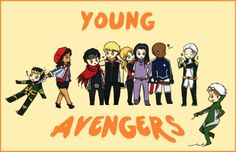 young avengers collected by Megami-Yaiba on DeviantArt Next Avengers, Young Avengers, Marvel Avengers, Marvel Girls, Marvel Memes, Marvel Dc Comics, Hulk, Let The Fun Begin, Hawkeye