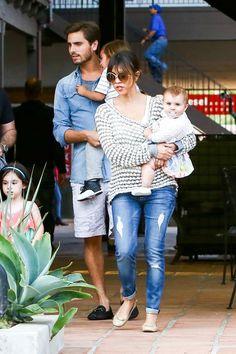 Celeb Diary: Kourtney Kardashian & Scott Disick in Malibu