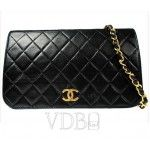 Chanel Quilted Black Leather 2.55
