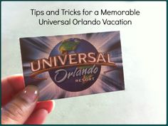 Tips and tricks to make your Universal Orlando Resort vacation great.